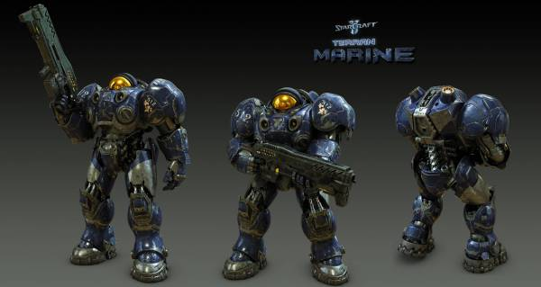Marine_Poses_by_SgtHK