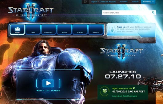 battle net opening