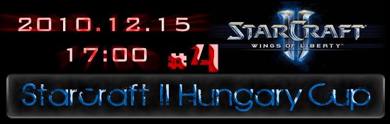 Starcraft 2 Hungary Cup #4