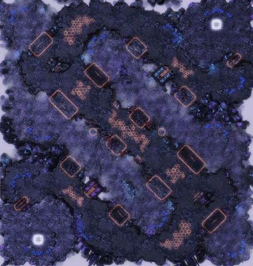 Lubelskich graczy StarCrafta 2. W naszym rejonie New Ladder Maps for 201