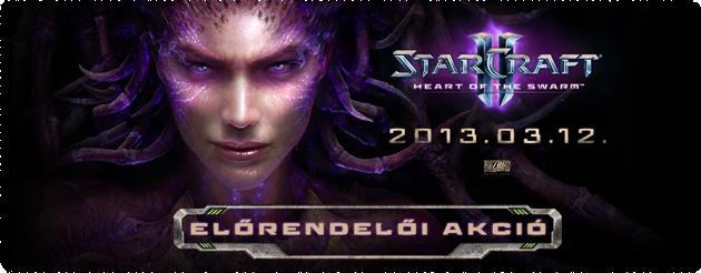Starcraft 2 Heart of the Swarm előrendelés olcsón legolcsóbb